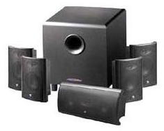 Een 5.1 speakerset.