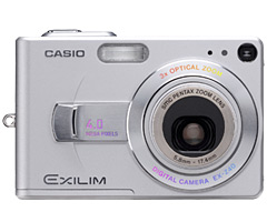 De Casio Exilim EX-Z40 is uitgerust met een Triple Stack Multi Chip Module.