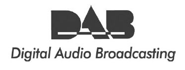 Logo van Digital Audio Broadcasting.