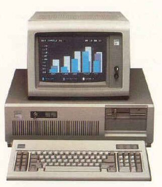 De IBM PC-AT (80286).