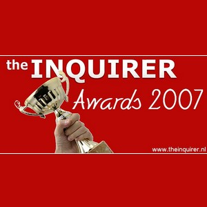 Logo van The Inquirer Awards 2007.