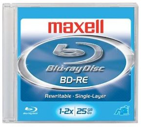 Maxell Blu-ray Disc recordable.