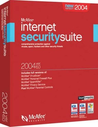 Security-suite van McAfee.