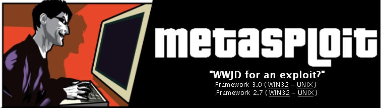 Metasploit Project website.