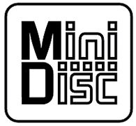 Logo van Mini Disc.